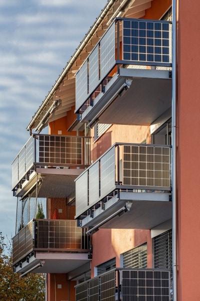 Solararchitektur-Gelaender